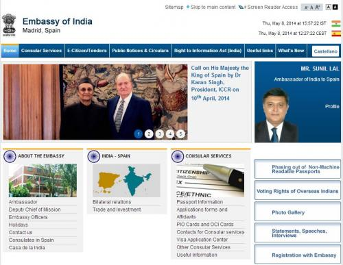 web: EmbassyIndia